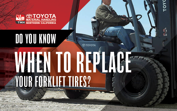 Blog Image - Do You Know When to Replace Your Forklift Tires