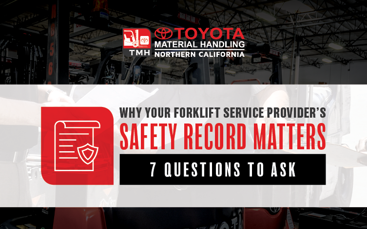 Forklift Service and Repair OSHA matters