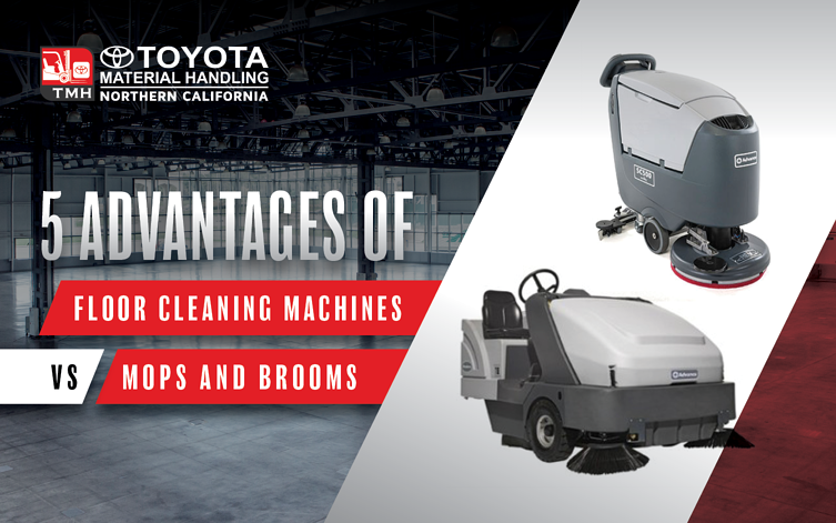 Advantages of Floor Cleaning Machines