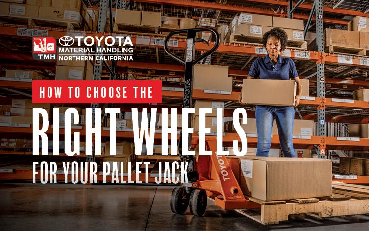 Nylon vs polyurethane pallet jack replacement wheels