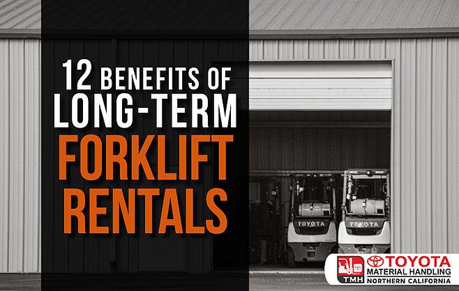 12 benefits of long term forklift rentals