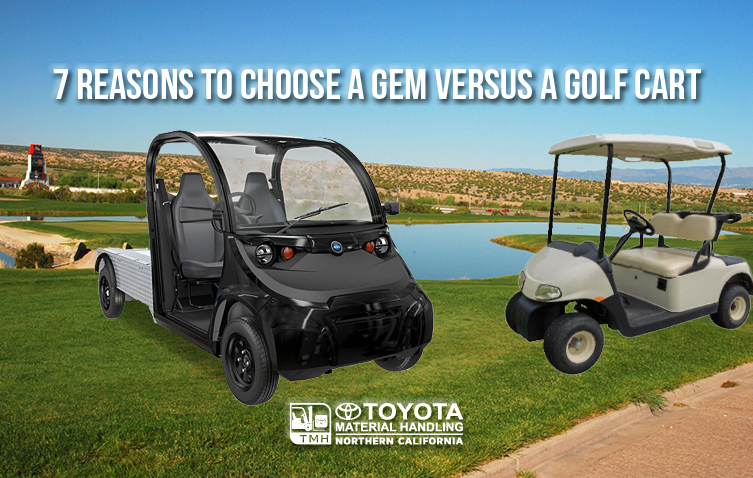 7 reasons to chose a gem versus a golf cart