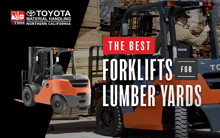 Forklifts for Lumberyards California