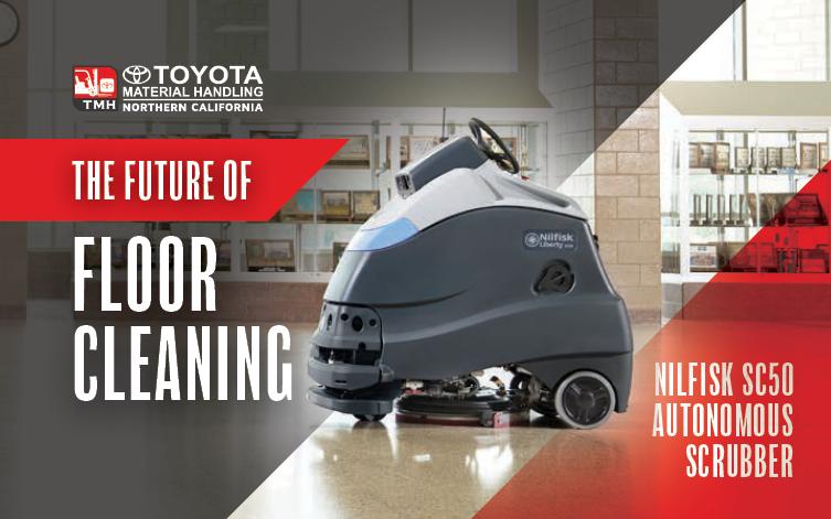 Buy Nilfisk SC50 Autonomous Robotic Scrubber Bay Area Sacramento Salinas Fresno