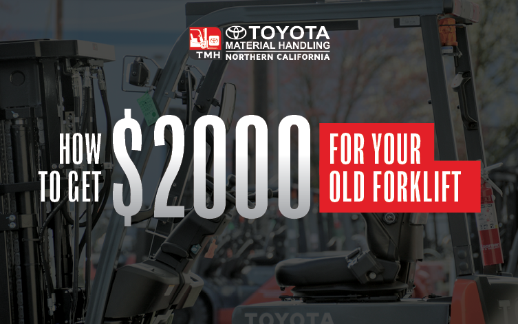 Blog Image How to Get $2000 for Your Old Forklift