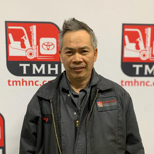TMHNC Livermore forklift tech Cuong Nguyen