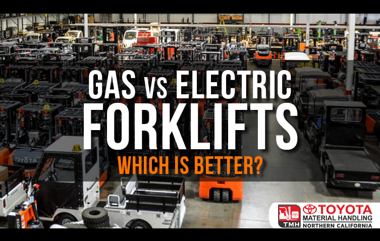 Gas vs Electric Forklifts Which is Better