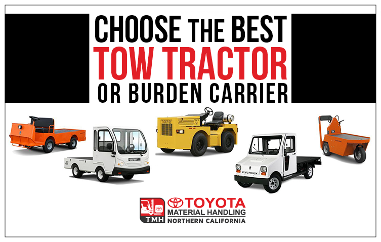 How to Choose the Best Tow Tractor or Burden Carrier