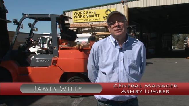 TMHNC customer testimonial Ashby Lunber