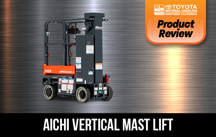 Product Review AICHI Vertical Mast Lift