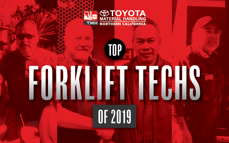 The best forklfit technicians in the Bay Area and Central Valley