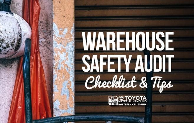 warehouse safety audit checklist tips