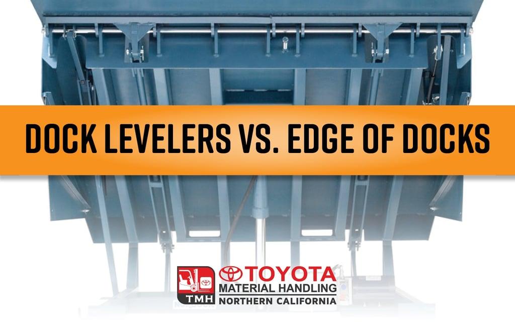 dock levelers vs edge of docks