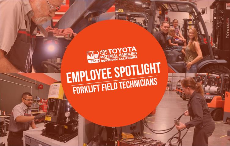 employee spotlight forklift field technicians