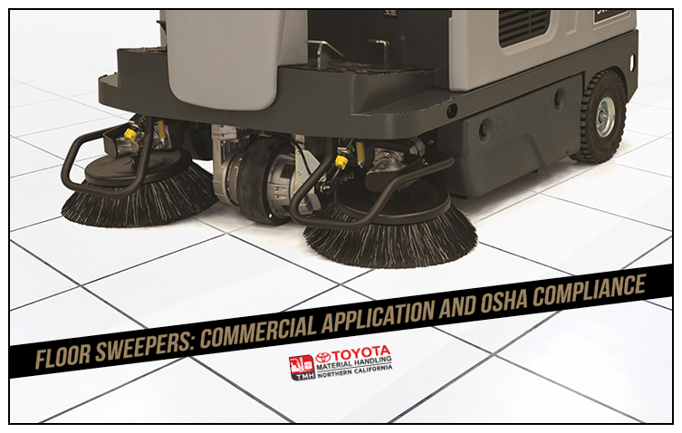floor sweepers commercial application and OSHA compliance