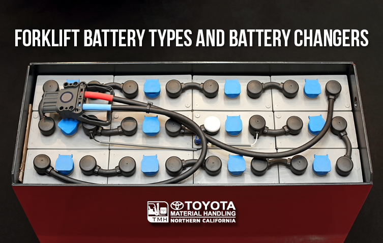 forklift battery types and battery changers