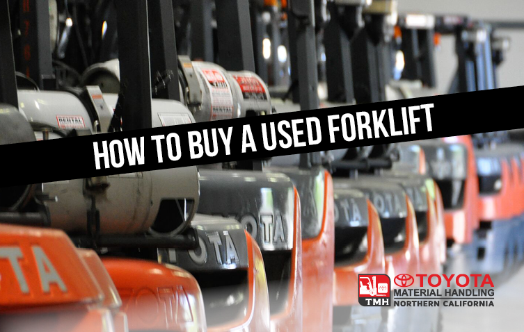 how to buy a used forklift