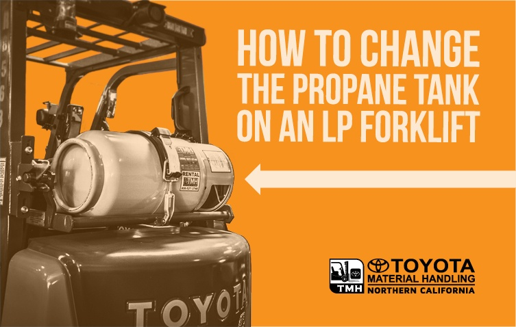 How to Change the Propane Tank on an LP Forklift