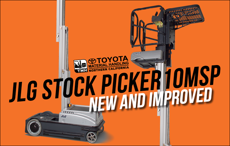 jlg stock picker 10msp new and improved