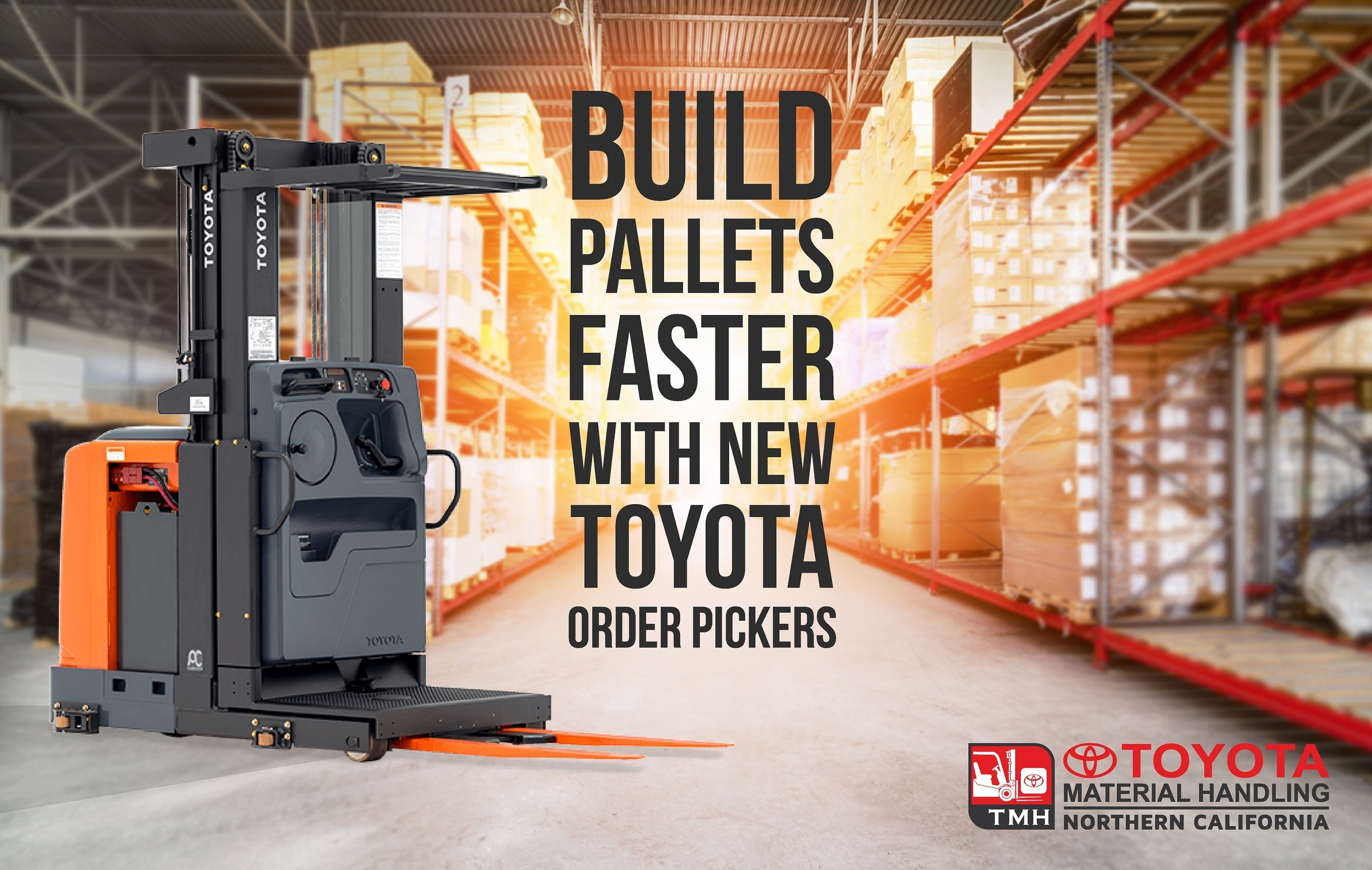 build pallets faster with new toyota order pickers