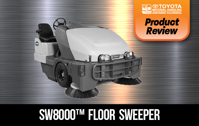 product review sw8000 industrial floor sweeper