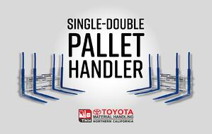single_double_pallet_handler