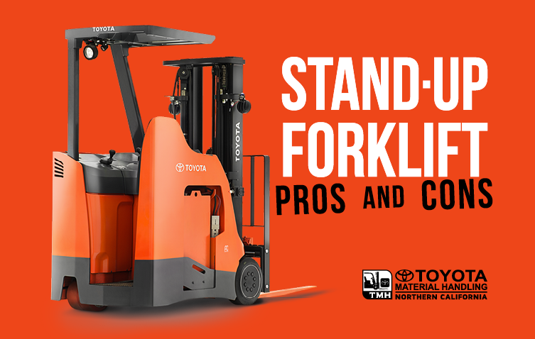 stand up forklift pros and cons