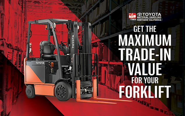 how to get the maximum trade-in value for you forklift