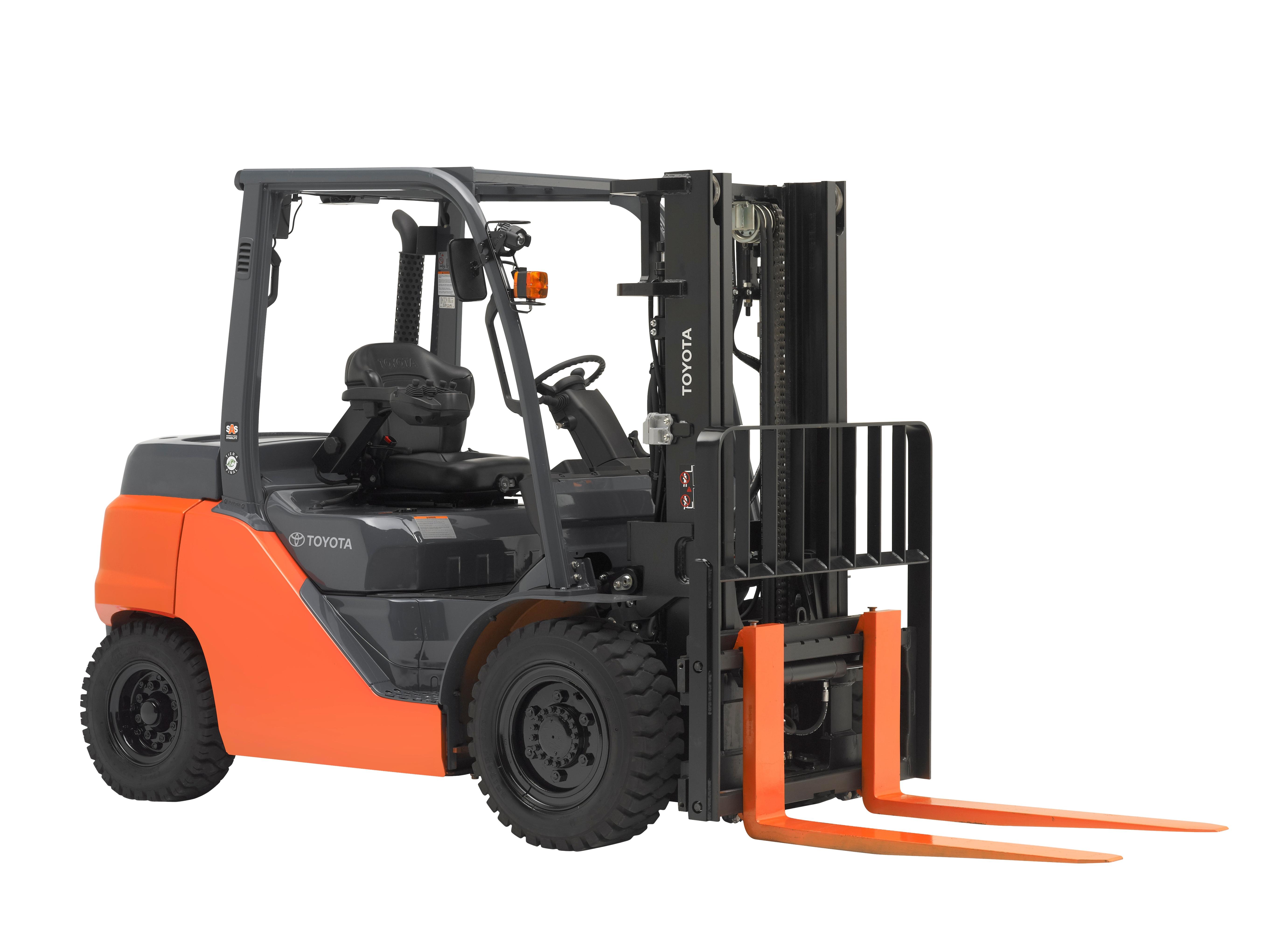 Internal Combustion Forklifts for Rent
