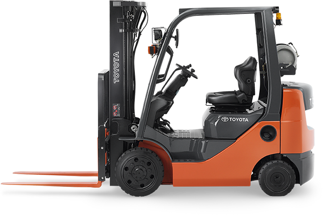 difference between ICE and electric lift trucks