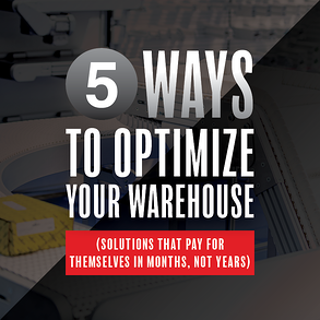 SQ 5 Ways to Optimize Your Warehouse