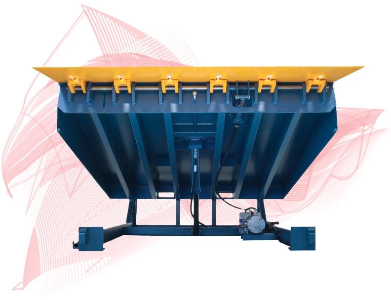 Sliding Barrier Lip Hydraulic Dock Leveler