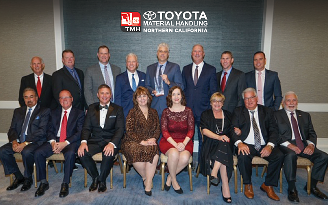 Toyota Material Handling Northern California Toyota Forklift Presidents Award