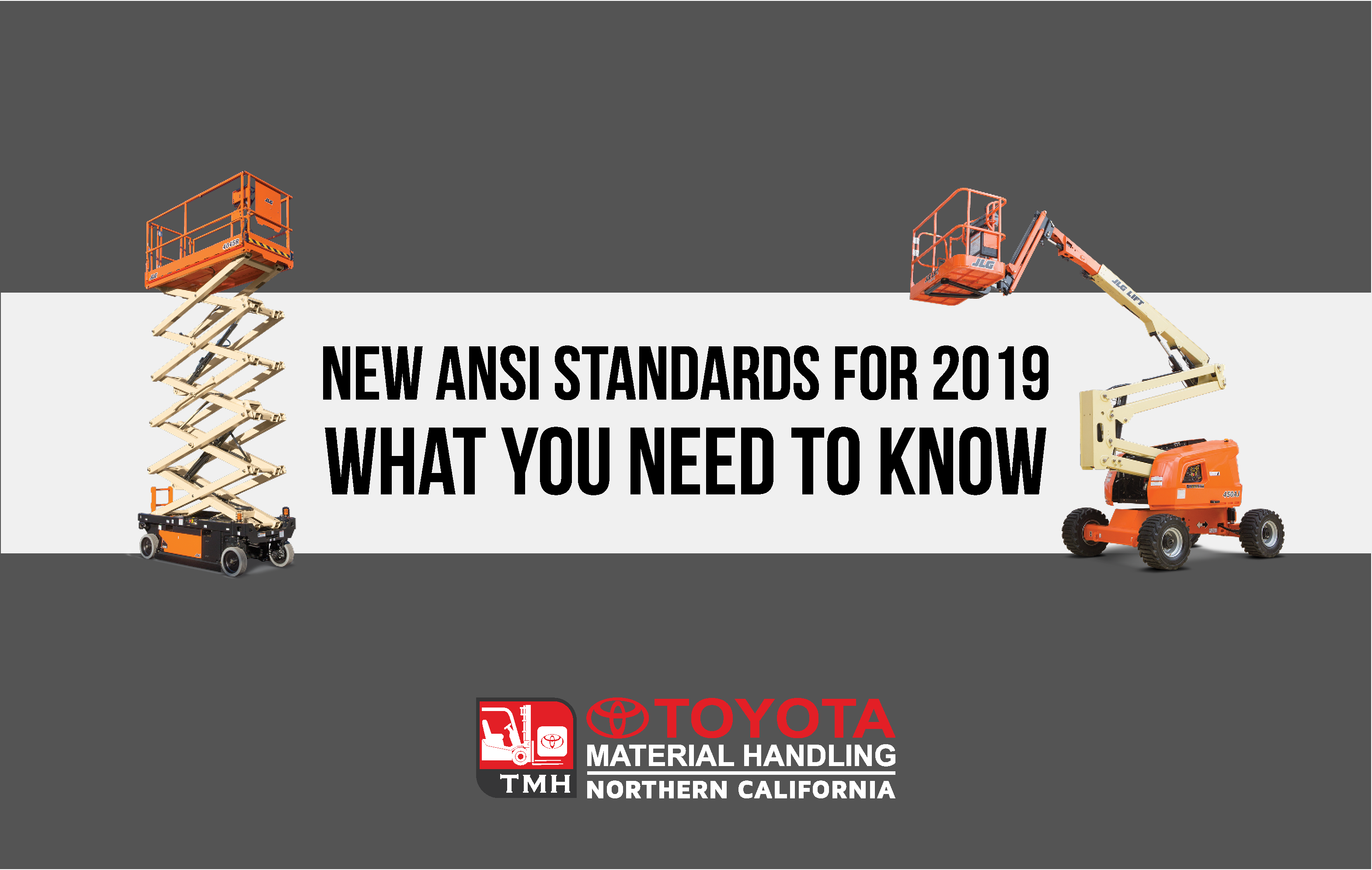 new ansi standards for 2019 MEWPS aerial lifts