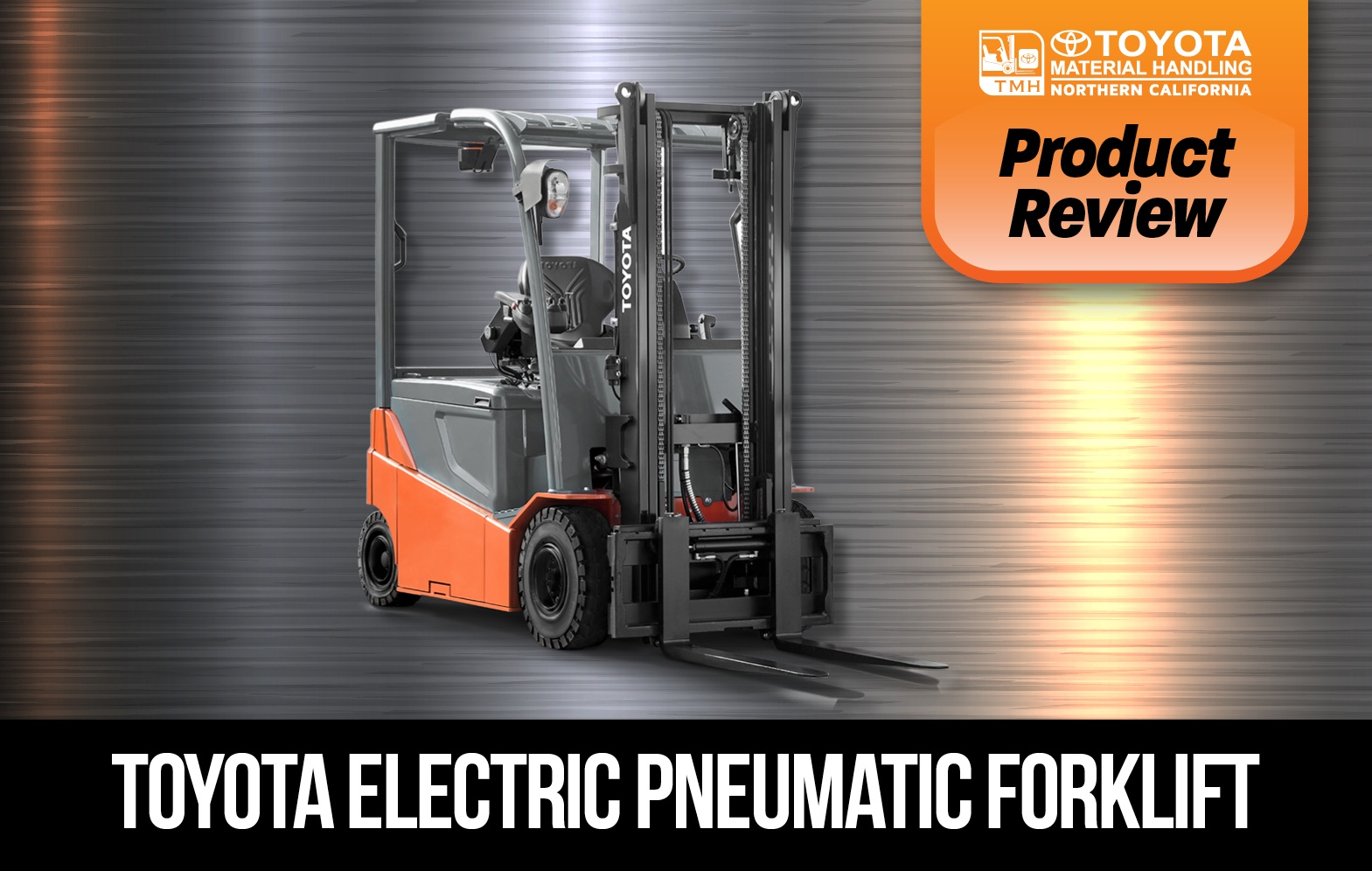toyota electric pneumatic forklift review