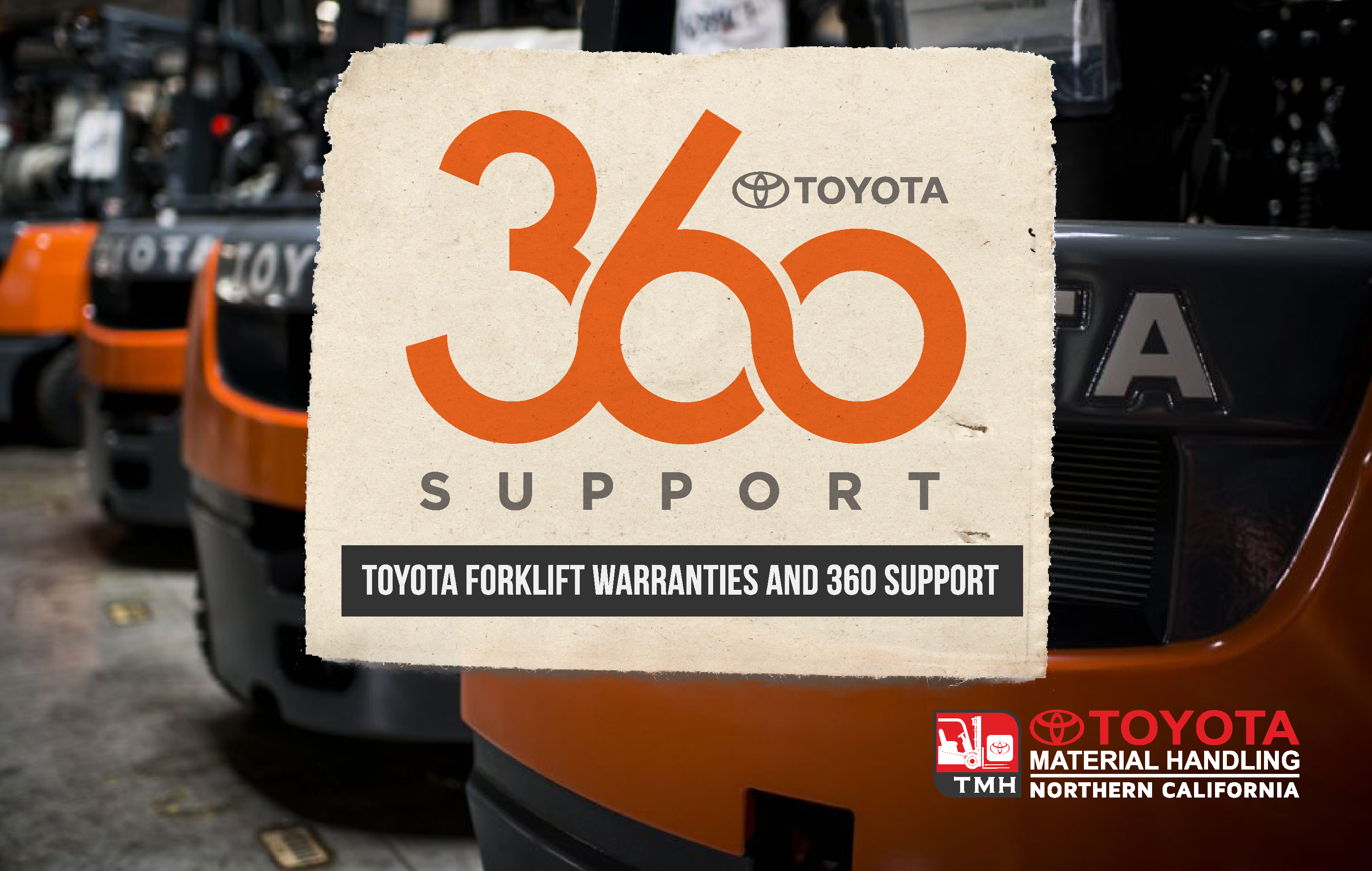 toyota forklift warranties and 360 support