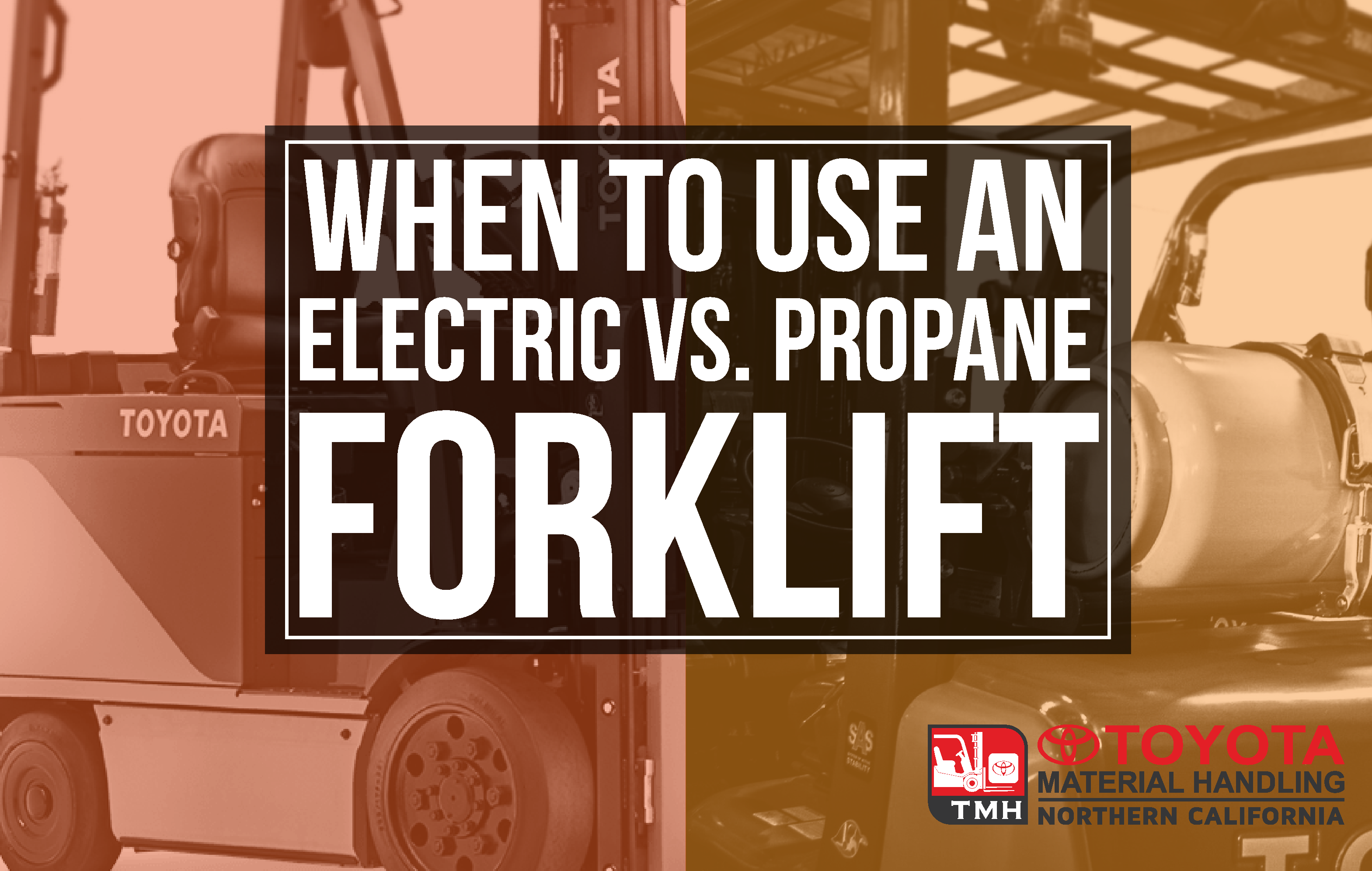 when to use an electric vs propane forklift