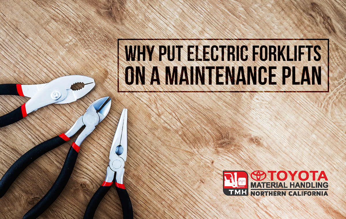 electric forklift maintenance plan