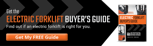 The Electric Forklift Buyer's Guide