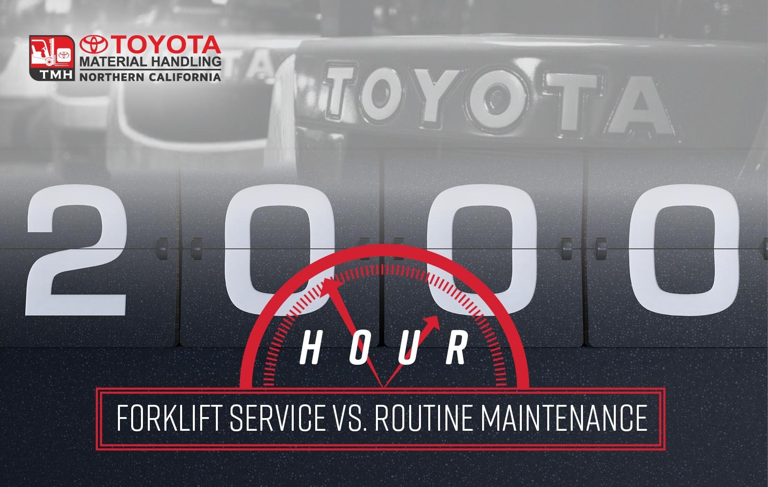 Toyota Forklift Blog Forklift Maintenance