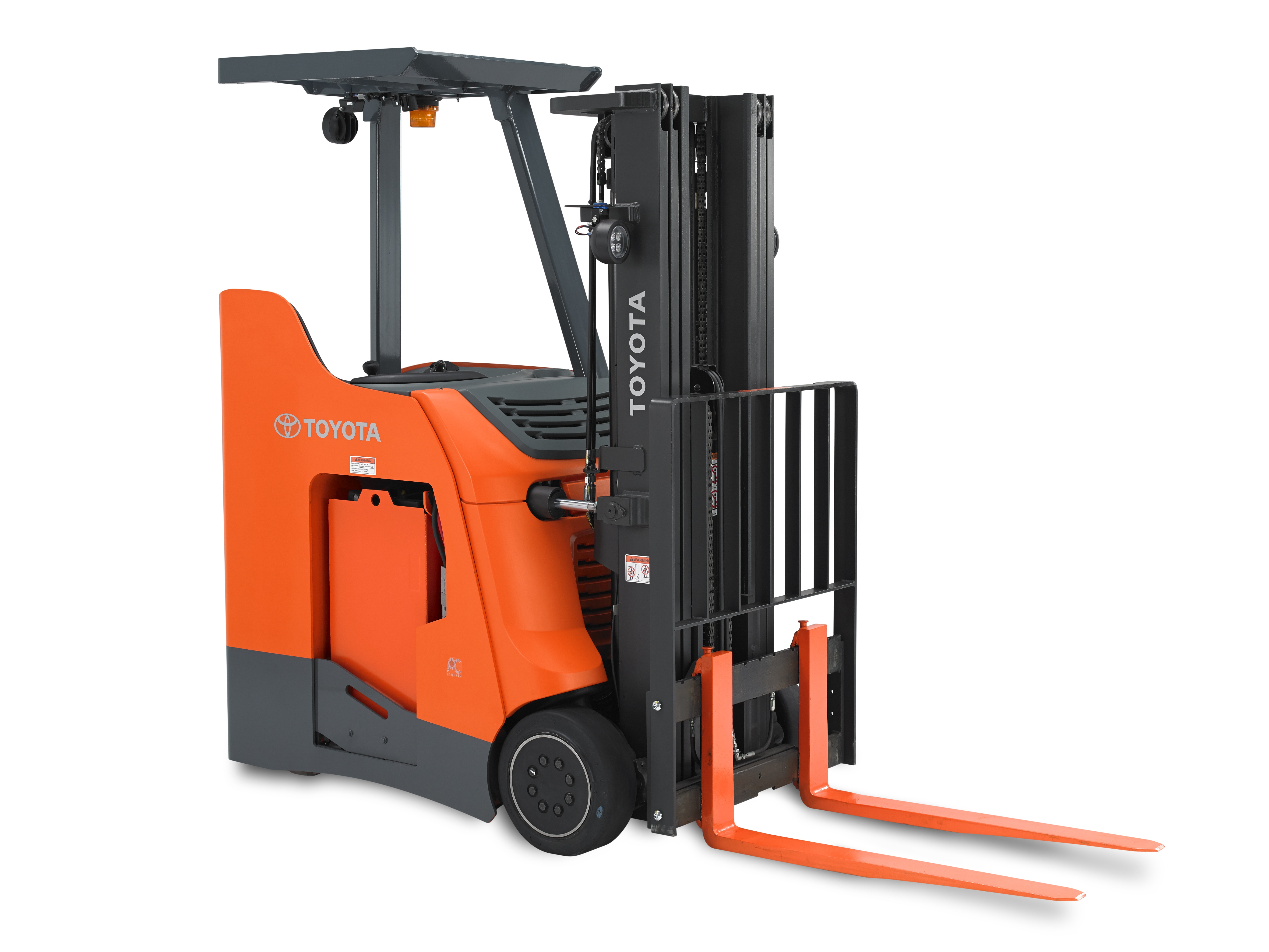 Stand-Up Rider Forklifts for Rent