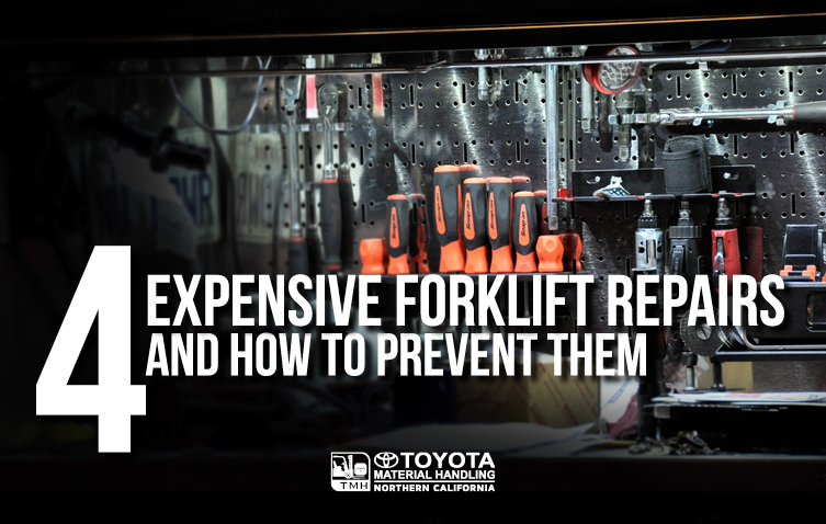 4 Expensive Forklift Repairs And How To Prevent Them