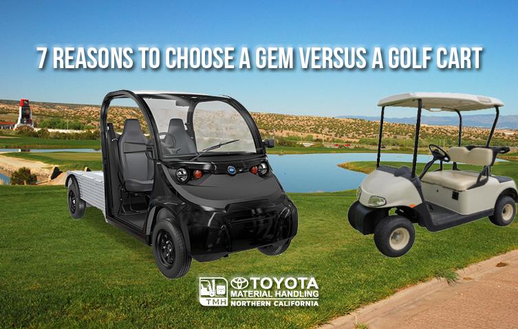 7 Reasons to Choose a GEM Versus a Golf Cart