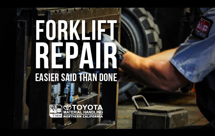 Forklift Repair Easier Said Than Done