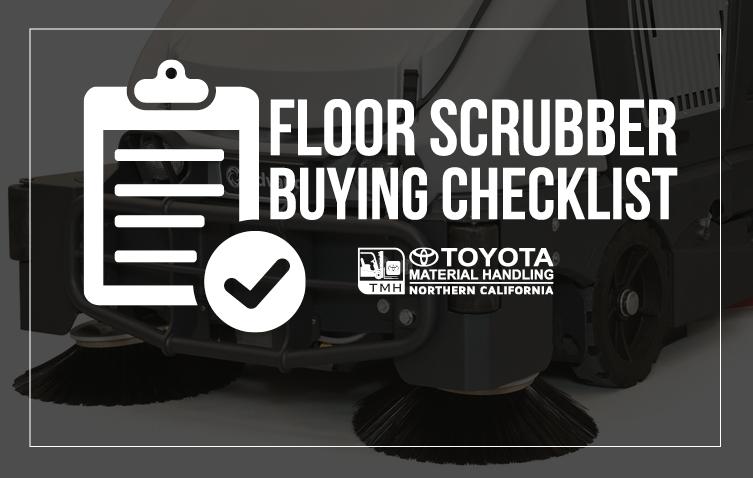 Floor Scrubber Buying Checklist