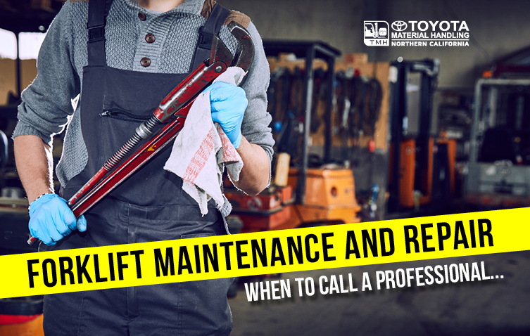 Forklift Maintenance And Repair When To Call A Professional