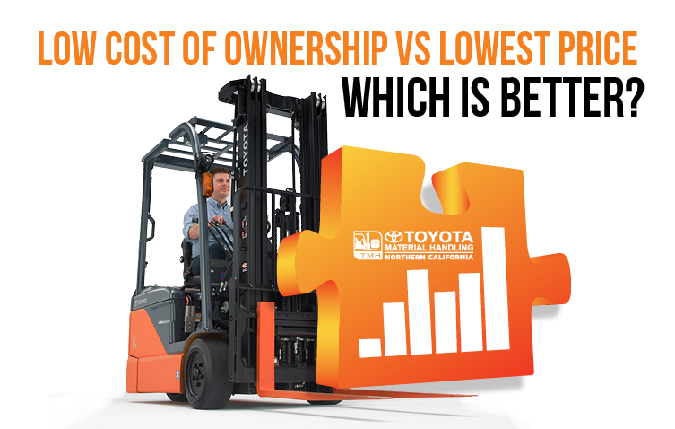 Buying a Forklift Which is Better: Lowest Cost of Ownership or The Lowest Price?