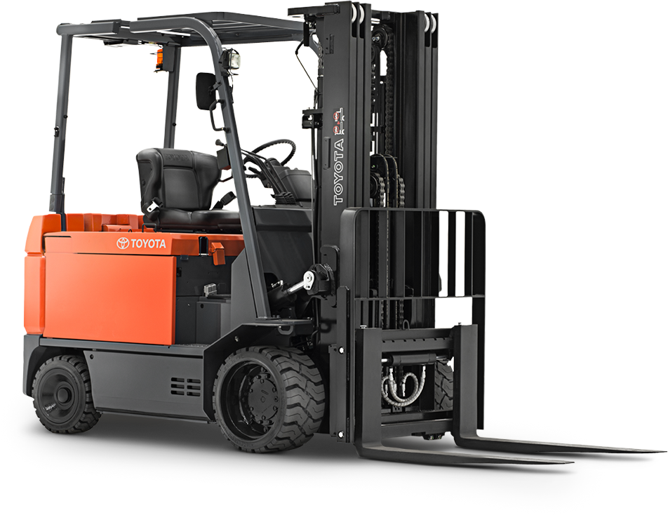 Large Electric Sit Down Forklift for Rent