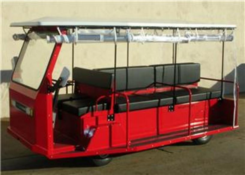 G150 passenger tram taylor dunn