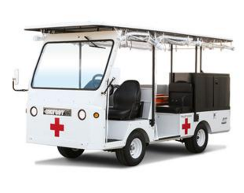 taylor dunn electric ambulance